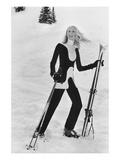 Vogue - November 1970 Regular Photographic Print by Toni Frissell