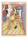 Vogue Cover - March 1922 Regular Giclee Print by Helen Dryden