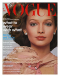 Vogue Cover - March 1974 Regular Giclee Print by Francesco Scavullo