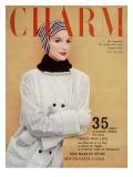 Charm Cover - October 1956 Premium Giclee Print by Carmen Schiavone