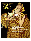 GQ Cover - November 1970 Premium Giclee Print by Ziraldo Alves Pinto