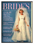 Brides Cover - February 1969 Regular Giclee Print by  Another Studio