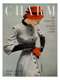 Charm Cover - January 1951 Regular Giclee Print by Carmen Schiavone