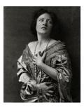 Vanity Fair - October 1922 Regular Photographic Print by Nickolas Muray
