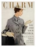 Charm Cover - February 1953 Premium Giclee Print by Maria Martel