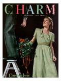 Charm Cover - December 1944 Regular Giclee Print by Elliot Clarke
