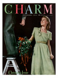 Charm Cover - December 1944 Premium Giclee Print by Elliot Clarke