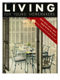 Living for Young Homemakers Cover - August 1957 Premium Giclee Print by Ernest Silva