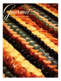 Gourmet Cover - November 1983 Premium Giclee Print by Ronny Jacques