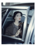 Vogue - March 1957 Regular Photographic Print by Clifford Coffin