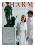 Charm Cover - July 1944 Premium Giclee Print by  Farkas