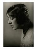 Vanity Fair - October 1925 Regular Photographic Print by Arnold Genthe