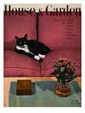 House & Garden Cover - April 1946 Regular Giclee Print by André Kertész