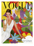 Vogue Cover - May 1959 Premium Giclee Print by William Bell