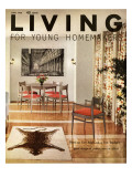 Living for Young Homemakers Cover - June 1958 Premium Giclee Print by Ernest Silva