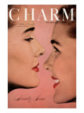 Charm Cover - April 1946 Premium Giclee Print by Ruzzie Green