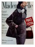 Mademoiselle Cover - September 1954 Regular Giclee Print by Stephen Colhoun