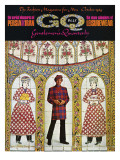 GQ Cover - October 1969 Premium Giclee Print by Leonard Nones