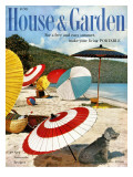 House & Garden Cover - June 1957 Regular Giclee Print by Otto Maya & Jess Brown