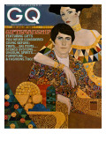 GQ Cover - December 1972 Premium Giclee Print by Richard Amsel