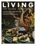 Living for Young Homemakers Cover - May 1958 Premium Giclee Print by Ernest Silva