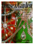 House & Garden Cover - December 1959 Regular Giclee Print by  Karlson