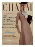 Charm Cover - March 1956 Premium Giclee Print by Louis Faurer