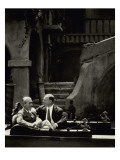 Vanity Fair - February 1928 Regular Photographic Print by Arnold Genthe