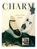 Charm Cover - July 1948 Regular Giclee Print by Michael Elliot