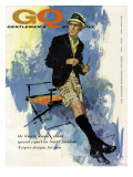 GQ Cover - May 1959 Premium Giclee Print by Howard Terpning