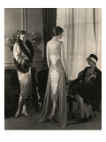 Vogue - May 1928 - Bergdorf Goodman Premium Photographic Print by Edward Steichen