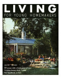 Living for Young Homemakers Cover - April 1958 Premium Giclee Print by Nowell Ward