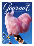 Gourmet Cover - February 2000 Regular Giclee Print by Kristine Larsen