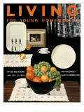 Living for Young Homemakers Cover - April 1953 Premium Giclee Print by Ernest Silva