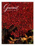 Gourmet Cover - November 1982 Premium Giclee Print by Lans Christensen