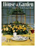 House & Garden Cover - May 1954 Premium Giclee Print by William Grigsby