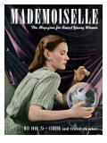 Mademoiselle Cover - May 1940 Regular Giclee Print by Paul D'Ome
