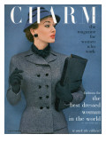Charm Cover - September 1952 Premium Giclee Print by Carmen Schiavone