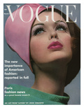 Vogue Cover - March 1962 Premium Giclee Print by Bert Stern