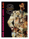 GQ Cover - December 1967 Regular Giclee Print by Leonard Nones