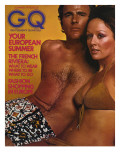 GQ Cover - June 1972 Premium Giclee Print by Stephen Ladner