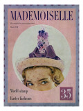 Mademoiselle Cover - March 1948 Regular Giclee Print by Mark Shaw