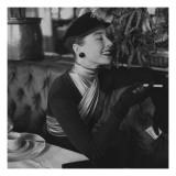 Vogue - November 1952 Premium Photographic Print by Henry Clarke