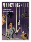 Mademoiselle Cover - May 1939 Regular Giclee Print by Paul D'Ome