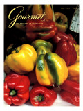 Gourmet Cover - May 1984 Premium Giclee Print by Ronny Jacques