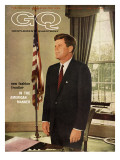GQ Cover - March 1962 Premium Giclee Print by David Drew Zingg