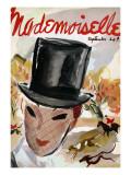 Mademoiselle Cover - September 1935 Regular Giclee Print by Helen Jameson Hall