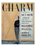 Charm Cover - October 1955 Premium Giclee Print by Carmen Schiavone