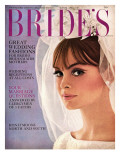 Brides Cover - April 1965 Regular Giclee Print by Charles Fitzpatrick