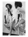 Vogue - January 1977 Premium Photographic Print by Chris Von Wangenheim
